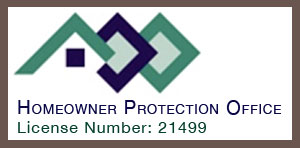 Contact Mettler Construction Ltd as registered with the Homeowner Protection Office