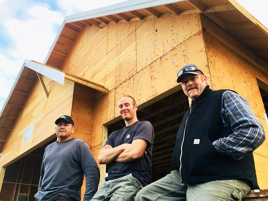 Mettler Construction Team - Rick Mettler, Aaron Clarke, Matt Strand