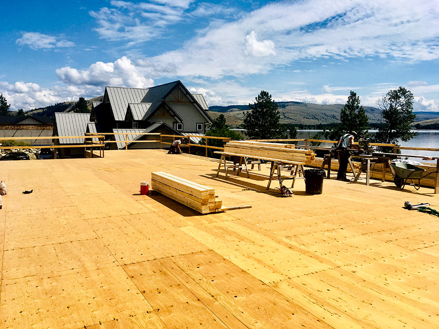 New building project starting for Mettler Construction at Nicola Lakeshore estates in Merritt, BC