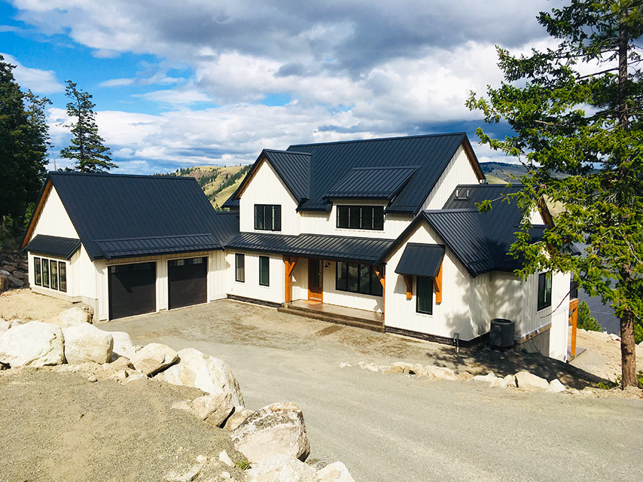 Mettler Construction project complete at Nicola Lakeshore Estates in Merritt, BC